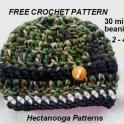 30 min crochet beanie 2 - 4 yrsjpg