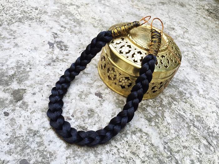 Make A Braided Thread Necklace