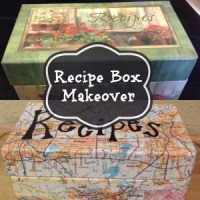 Recipe Box Makeover