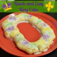 Whip It Up Wednesday Quick and Easy King Cake