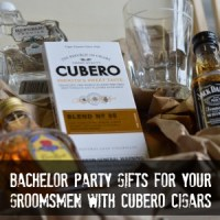 Bachelor Party Gifts for your Groomsmen with Cubero Cigars #cuberoluxury #PMedia #ad