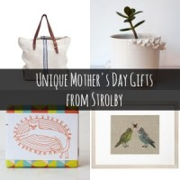Unique Mother's Day Gifts from Strolby #StrolbyMothersDay #ad