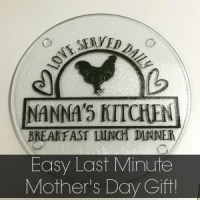 Easy Last Minute Mother's Day Gift