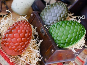 GOT dragon egg cookies