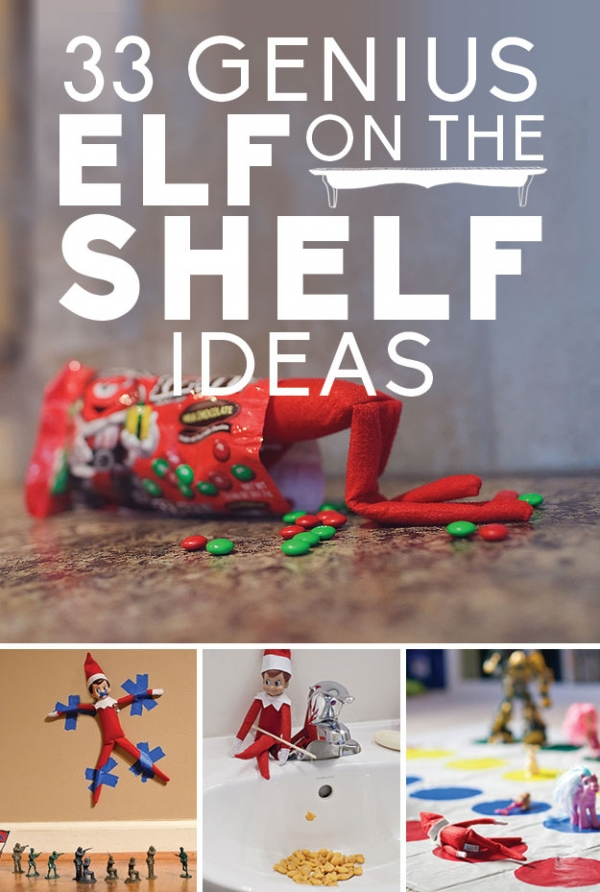 Classroom Elf Ideas ~ Easy to do elf on the shelf ideas craft gossip