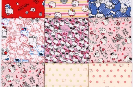 Worldwide Giveaway! Modes4U Hello Kitty Fabric Bundle