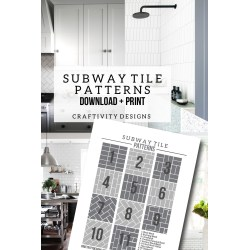 Small Crop Of Subway Tile Sizes