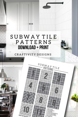 Small Of Subway Tile Sizes