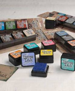 Mini Distress Ink Kits
