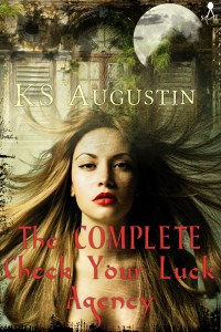 The Complete Check Your Luck Agency by K.S. Augustin #bookreview @goddessfish