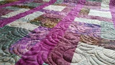 Paisley Swirl Quilting