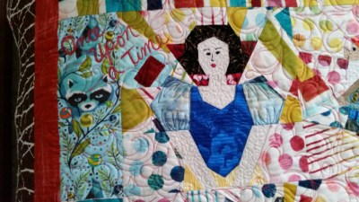 Special Area Quilting with Overall Feathering