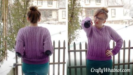 purple-sweater-pads