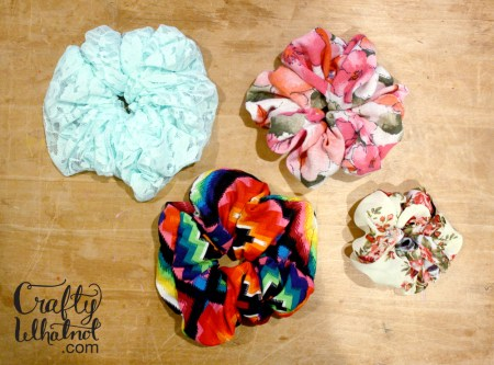 how to make a scrunchie sewing