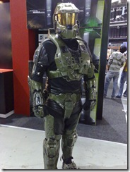 Master Chief visits rAge 2007