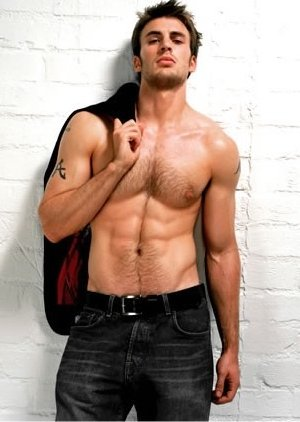 Hot Guys with Guns - Chris Evans http://wp.me/p4hGmz-fh