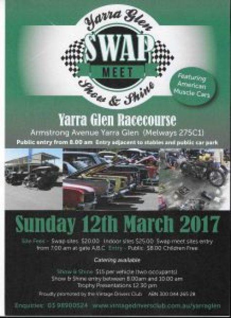 Yarra Glen Swap Meet