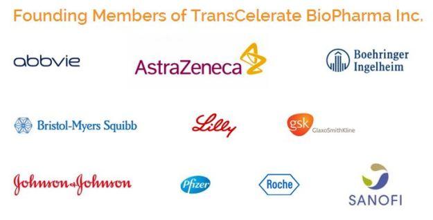 Founding Members of TransCelerate BioPharma Inc