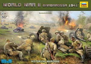 World War 2 Art of Tactic Barbarossa box art