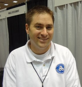 Byron Collins smiling at GAMA Trade Show 2012