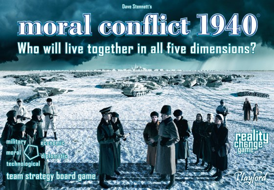 Cover for Playford Games Moral Conflict 1940 by David Stennett