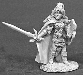 Reaper Miniatures #2059 Calindra Silverspell by Sandra Garrity