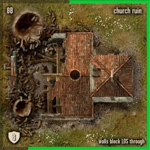 4x4 Tile Image designed by Marc von Martial for Spearpoint by Collins Epic Wargames