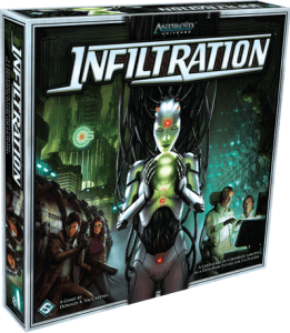 Cover box art for Infiltration by Fantasy Flight Games