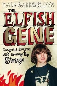 Geeky teenaged Mark Barrowcliffe on the cover of his memoir The Elfish Gene