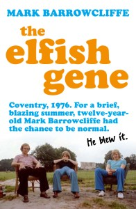 British teenage youths on the cover of The Elfish Gene promoting Coventry. 1976