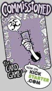 Commissioned 3v3 Card Game Kickstarter promotion promoting fact that it is funding on Kickstarter