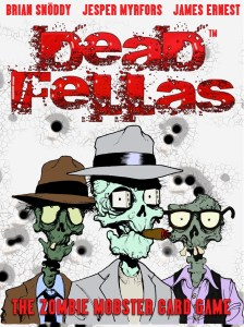 Zombie Mafia Mooks on cover of Deadfellas box art