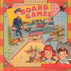 Artwork from Go to the Head of the Class featuring Sis and Cowboy Joe on cover of Celebrating Board Games