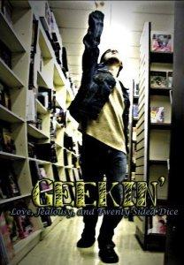 Morgan Rejoicing on Cover of DVD Geekin'