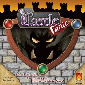 Board Game Box Art for Castle Panic