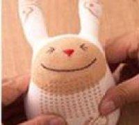 Заяц из носков своими руками