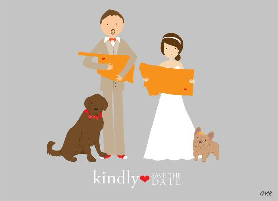 Wedding Illustrations You've Gotta See