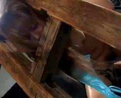 【無修正集団レイプ動画】巨乳OLを拉致監禁して集団レイプ!身動き取れない状態にして上下の口を犯し倒す・・・
