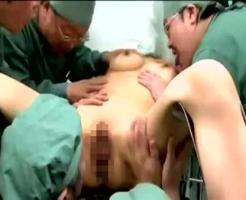 【集団レイプ動画】中絶希望の人妻を麻酔で眠らせてる間に集団中出しレイプ!産婦人科医達による凶悪事件・・・