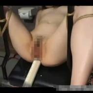 【無修正凌辱動画】清楚な人妻の四肢を縛り極太浣腸で肛門大拡張!ドS男にSM凌辱を受ける美女のアナルは大量の液体を噴射ww