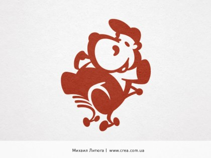 Логотип для Бегемота