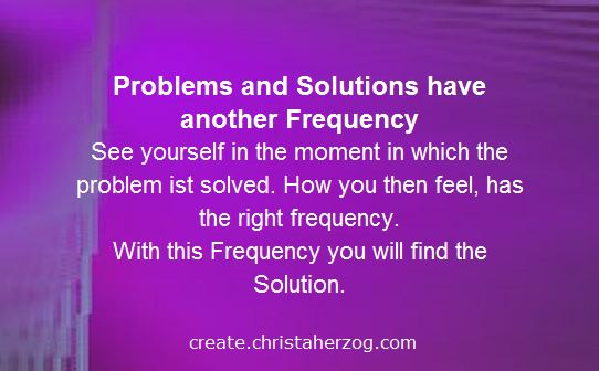 Problems Solutions and Frequencies
