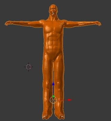【ブレンダー】3Dで『進撃の巨人』の50メートル級巨人を作ってみる。7【Daz3D】1