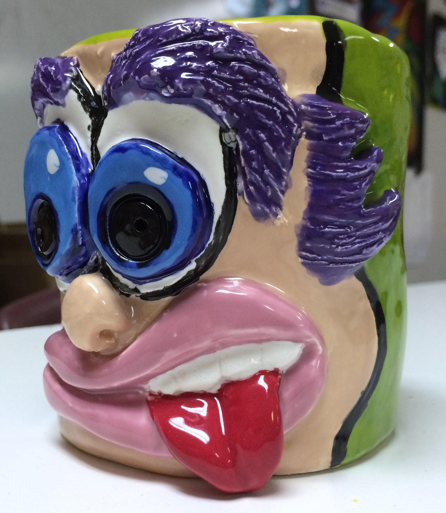 Funny Face Mugs History Of Funny Face Jugs Amp Glazed Mugs