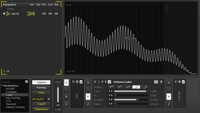 Among a host of new effect and modulation features, you can now add modulation per-sample inside an instrument - something no ordinary sampler has ever dreamed possible.