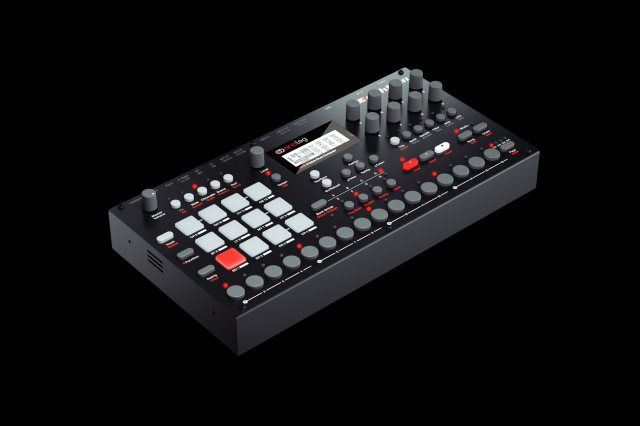 Analog-Rytm-By-Elektron-Side-Front-Angle-View-2