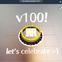 Let's celebrate: HoloBuilder v100 is live!