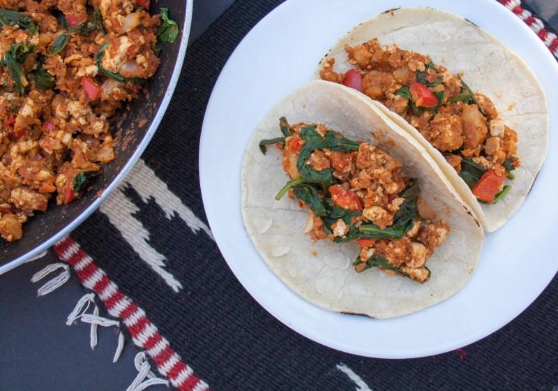 Large Of Breakfast Tacos Recipe
