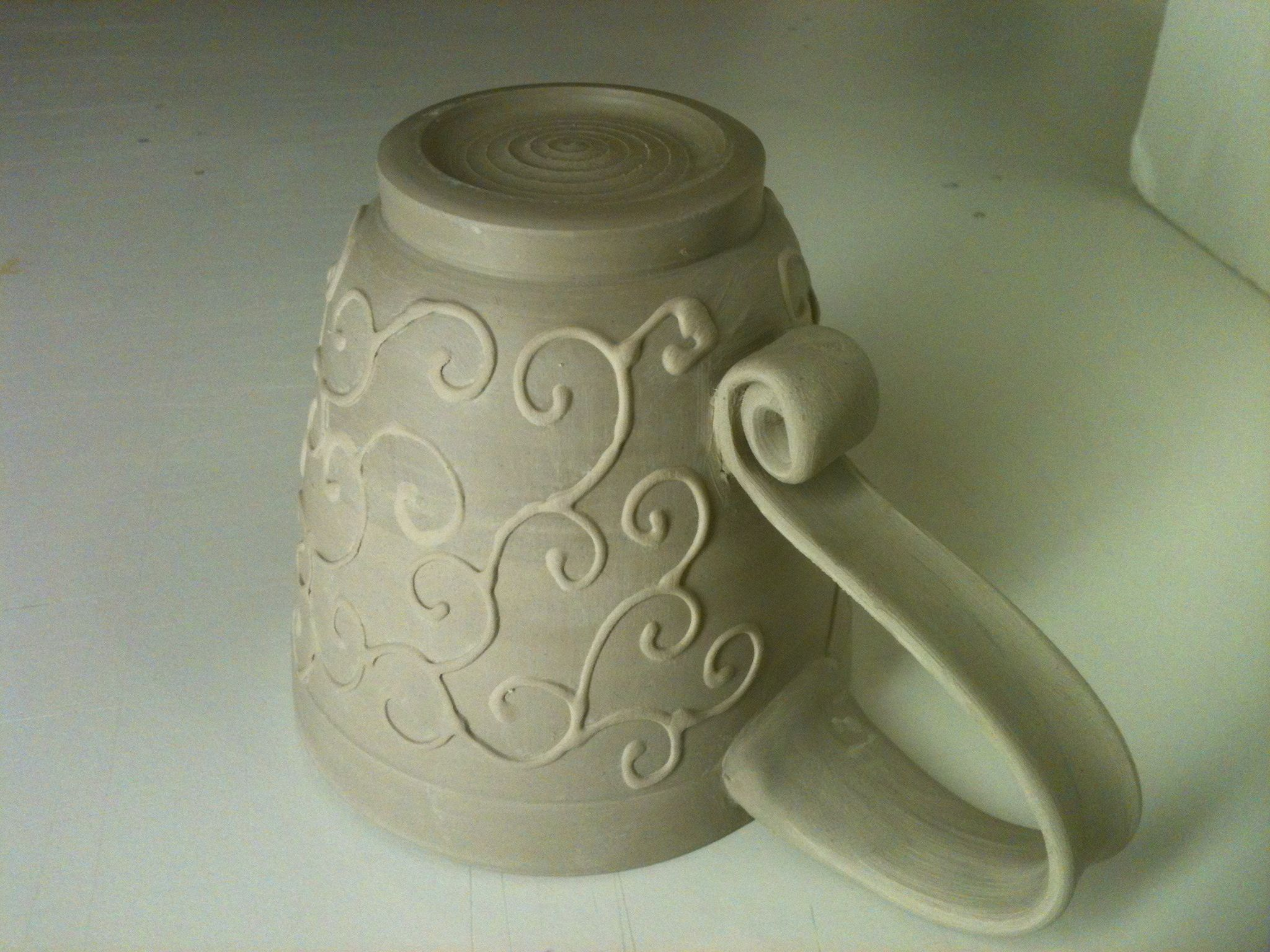 Fullsize Of Pottery Mug Handles