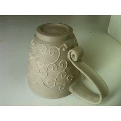 Small Crop Of Pottery Mug Handles
